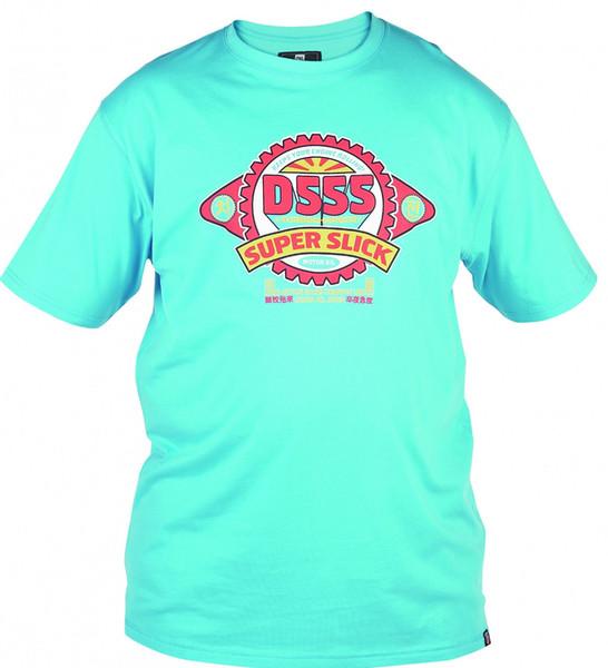 Mens D555 Super Slick Scuba Blue Tee TShirt Duke Brushed Cotton Short Sleeve Men Women Unisex Fashion tshirt Free Shipping Funny Cool