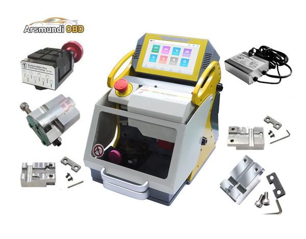 La mejor cortadora automática de llaves en varios idiomas SEC E9 herramientas de bloqueo máquina copiadora de llaves mejor que la máquina A7 + para hacer las llaves del automóvil