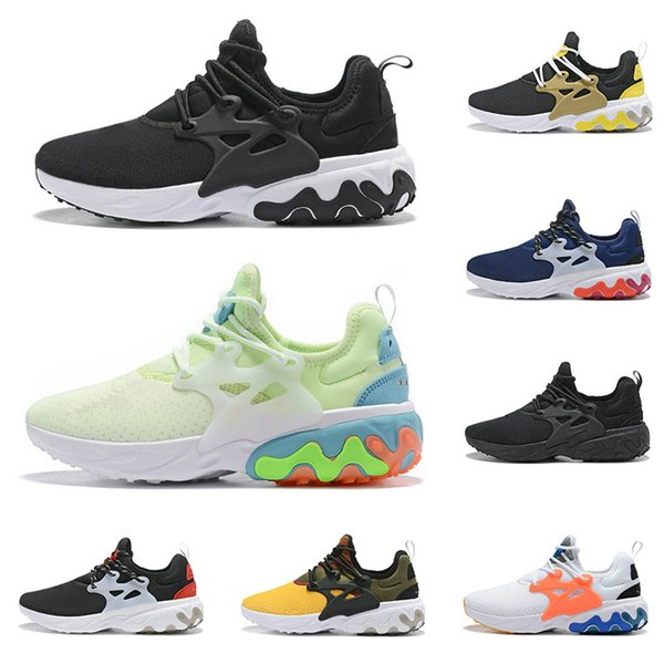 buy cheap lowest discount online store 2019 React Presto Men Women Running Shoes Triple Air Black Rabid Panda  Breezy Thursday Brutal Honey Prestos Mens Trainers Sports Sneakers Kids  Running ...