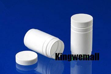 300pcs / lot Kapazität 120ml leere Plastik HDPE-Flasche für Tabletten Pillen Capsule Drug Medizin Verpackung