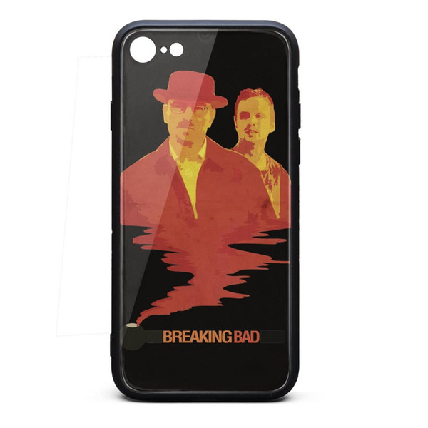 Breaking bad Mens iphone 8 cool protective case personalised phone cases hard apple case hippie classic skid-proof phone cases