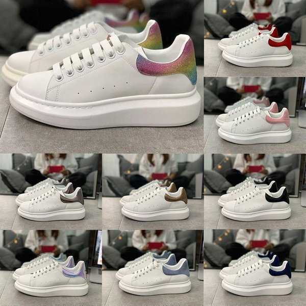 2020 caldo scarpe per bambini velluto Chaussures piattaforma scarpe da ginnastica Scarpe casual Designerscatola di alexanderMcQueens Enfants formato 28046 #