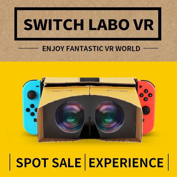 EastVita Gafas de realidad virtual Gafas 3D Juego de películas VR para Nintend Switch