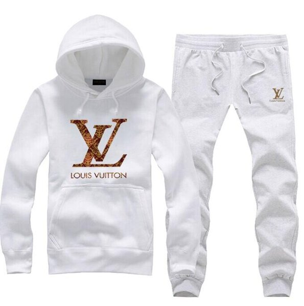 New fa hion de igner track uit pring autumn ca ual brand port wear track uit hoodie men clothing outwear pant