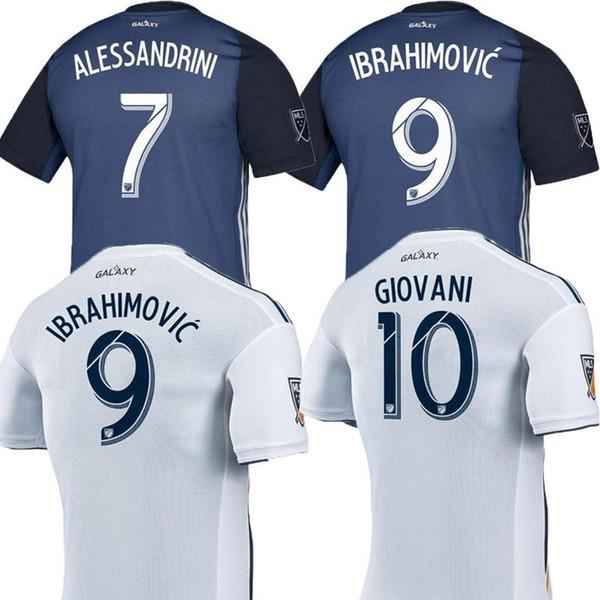 Camiseta LA Galaxy Soccer 2019 IBRAHIMOVIC 19/20 Camisa de Los Angeles Galaxy GERRARD GIOVANI BECKHAM DOS SANTOS KAMARA LA galaxy maillot de foot
