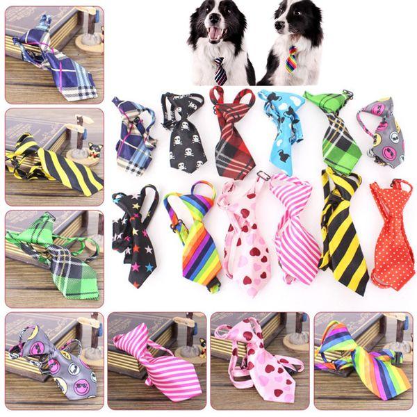 Renk Ayarlanabilir Köpek Kedi Pet Köpek Oyuncak Bakım Bow Tie Kravat Giyim köpek giyinmek boyun kravat suypply