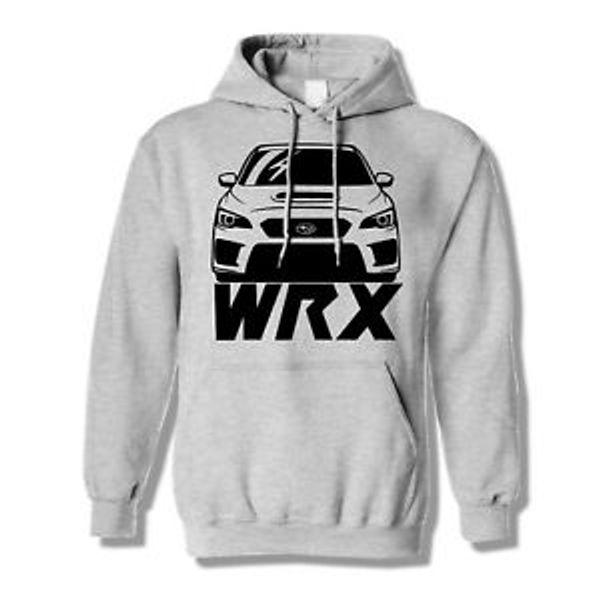 Wrx sudadera con capucha amante del coche sudadera con capucha Designi suéter subie envío gratis
