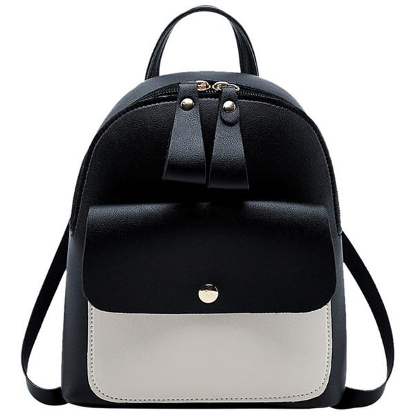 2019 New Mini Backpack Fashion Lady Shoulders Small Backpack Letter Purse Mobile Phone Mochila Feminina