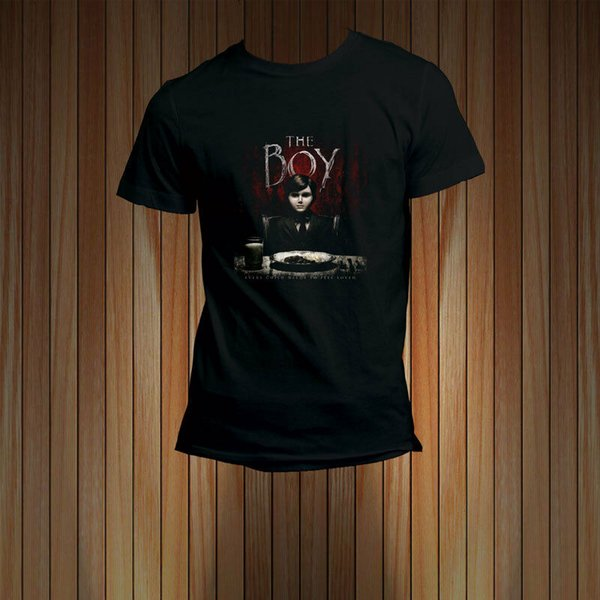 The Boy Thriller Horror The Movie T-shirt Cool t-shirt marcus and martinus discout hot new top t-shirt gratuita