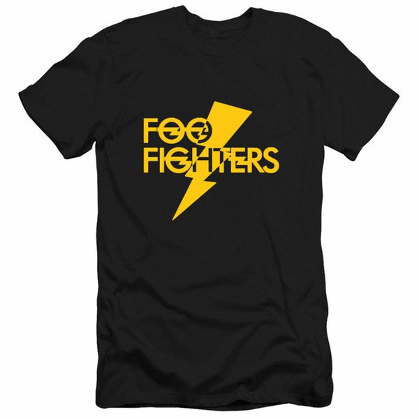 Foo Fighters Homens Tshirts Moda Rocker Mulheres Mens Tees Casual Solto Manga Curta Adolescentes Tops