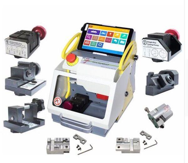 DHL free SEC-E9 Full Clamps CNC Automatic Key Cutting Machine For Car Keys & House Keys Better Than Slica I80 Key Machine