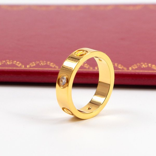 5mm in oro con pietra