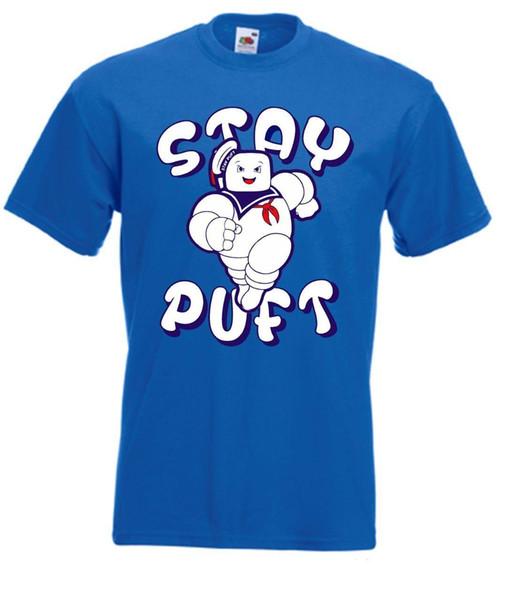 Aufenthalt Puft Marshmallow Man Ghostbusters Retro Film T-Shirt