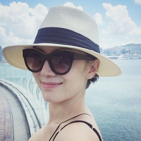 Little pepper with the same Panama hat Female summer beach beach holiday sun hat jazz