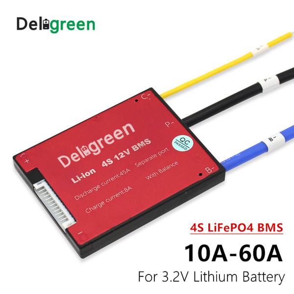 Tüketici Elektroniği 3.2 V LIFEPO4 4S 12 V 15 20 30 40 50A 60A PCM / PCB / BMS LIFEPO4 LINCM LMO LI-PO 18650 Pil Paketi