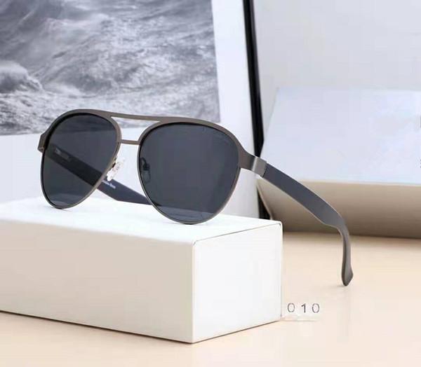 2019 YENI MODA 4 renk güneş gözlükleri tam set ile ambalaj erkekler için benzersiz tasarım yüksek kalite ücretsiz kargo 010.