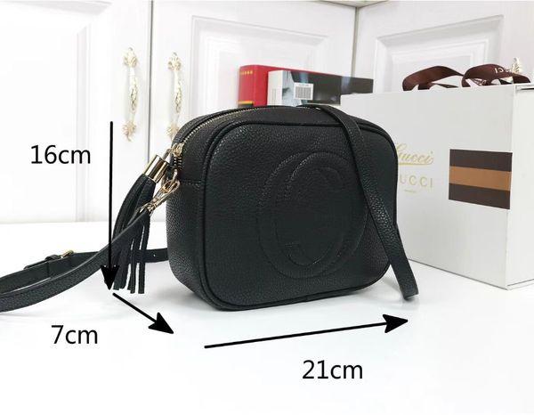 best selling Women Shoulder Bag Leather Soho Bag Disco Crossbody bag Purse 5 Color