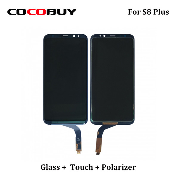best selling ORI G955 Front Glass + Touch panel + Polarizer Film Assembly For Samsung S8 Plus Touch Screen Digitizer Replacement Parts