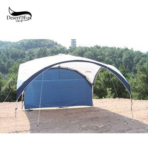 Novo Acampamento Ao Ar Livre Sun Shelter Auto-condução Tour Barracas de Praia de Churrasco 5-8 Pessoas Ultraleve À Prova de Chuva Anti-UV Portátil