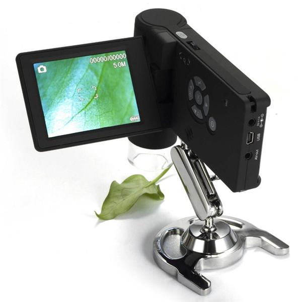 UM039 3.0 Inch Mini 20x-300x Handheld Portable LCD Digital Microscope