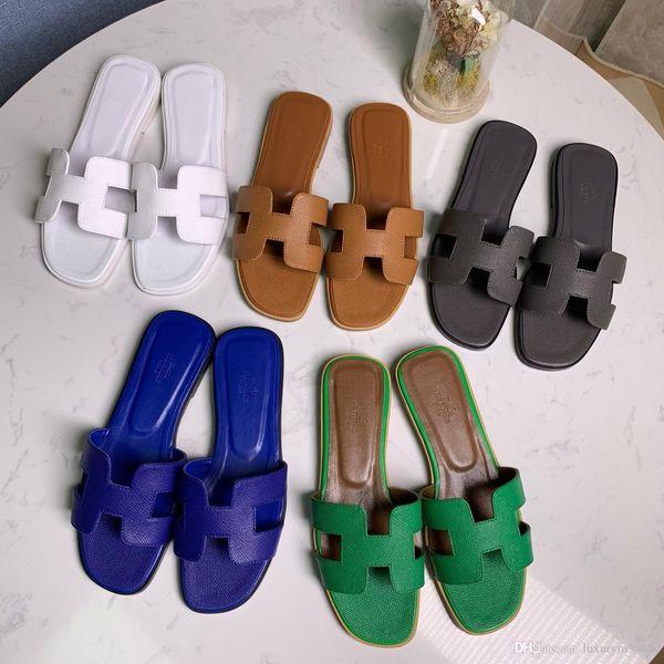NOVITÀ moda uomo estate spiaggia all'aperto Gomma slip-on sandali firmati di dimensioni 35-42 euro