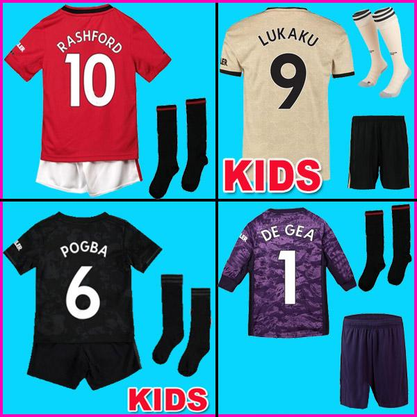 Manchester United Trikot Home, 20182019, für Kinder in 2019