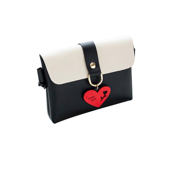 Women Fashion Bag Dropshipping Pure Color Leder Messenger Schultertasche Brust Süße und einfache Art Borsa a tracolla # 30
