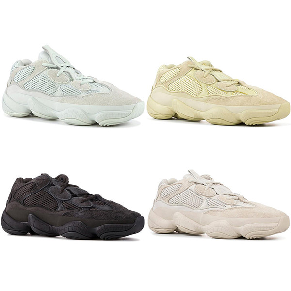 with socks NEW Wave Runner 500 Blush Salt Untility Black Super Moon Running Shoes Kanye West Designer Athletic Sneaker Sports Shoes 36-45