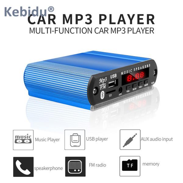 KEBIDU DIY Чехол Bluetooth MP3 Модуль Декодирования Совета Беспроводной Автомобильный USB MP3 Плеер TF Слот Для Карты USB FM Модуль Удаленного Декодирования Совета