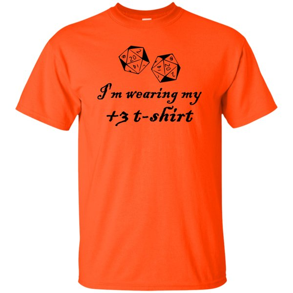 Ich trage mein T-Shirt +3 DD-Dungeons-Drachen-Vorlagen-RPG-Brettspiel Stat TShirtFunny freies Verschiffen Unisex-beiläufiges T-Shirt