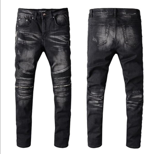 New 2020 Style Diesel Famous casual designers design slim fashionable ripped jeans motorcycle summer trousers pencil jeans pants 3906