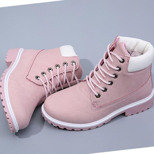 Acheter 2019 Mode Femmes Boot Bottes D'hiver Bottes Femme Femmes Cheville Hiver Chaussures Chaud Fourrure Neige Mesdames Bota Bottillons De $23.37 Du