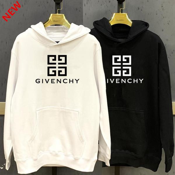 marca de lujoHombres sudadera con capucha diseñador de hip hop ropa de estilo de lana superior del G8 de chándal con capuchaGivenchy