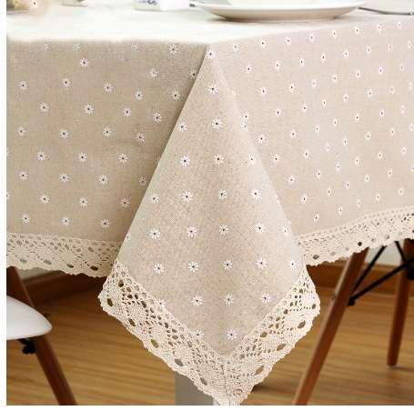 Woven Dobby Linen Tablecloth High Quality Japan Stlye Table Cloth for Restaurant Free Shipping