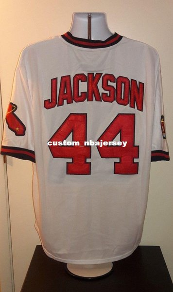 1982 Pas Personnalisé Jackson Jersey Reggie Cousu Cher Acheter Rétro wpSXaZqZx