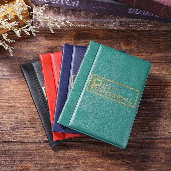 120 Pockets Coins Album Collection Commemorative Book Coin Storage Collector NEW