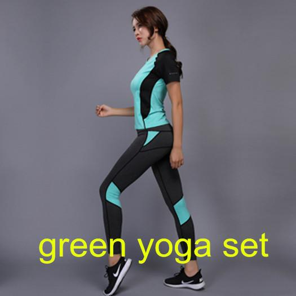 Green Yoga Set