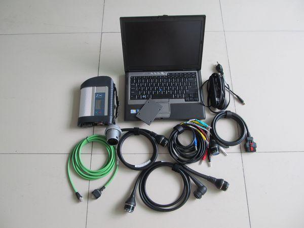 sd conectar c4 mb ferramenta de diagnóstico estrela c4 com Wi-Fi + 2.019,09 ssd HDD soft / utensílios + para dell laptop D630 pronto para usar
