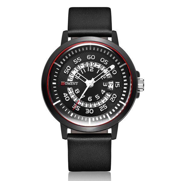 Yaratıcı Çift İzle Erkekler Kadınlar Casual Saatler Erkek Kadın Bilek İzle Siyah Saat Basit Minimalist Spor Kuvars Saatler