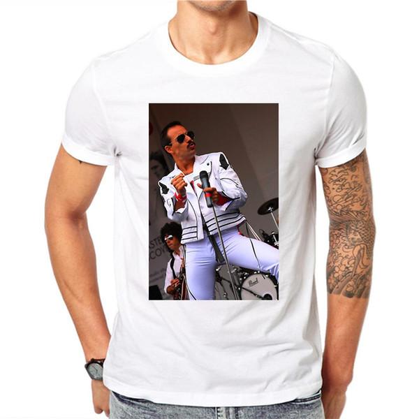 FR-EDDIE MERCURY T-shirt Mode Für Männer Oansatz Kurzarm Lässige T-shirt Saint Mia T-shirt Camisetas Hombre EU Größe XXXL
