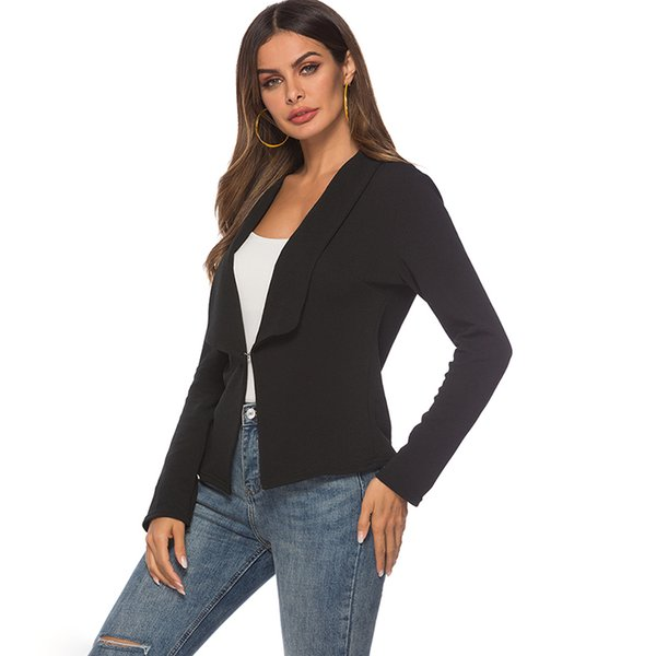 Women Blazers And Jackets Long Sleeve Office Ladies Workwear Business Suits Female Blazer Formal Coat