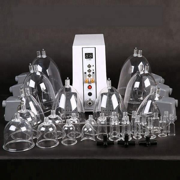 Машина вакуумного отсоса для увеличения ягодиц и женский насос для увеличения груди Красота Здравоохранение Устройство с 29 чашками