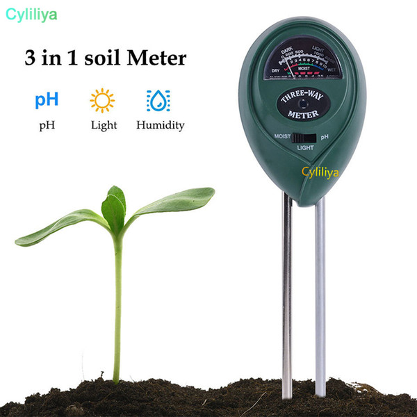 top popular Analog Soil Moisture Meter For Garden Plant Soil Hygrometer Water PH Tester Tool Without Backlight Indoor Outdoor practical tool 2021