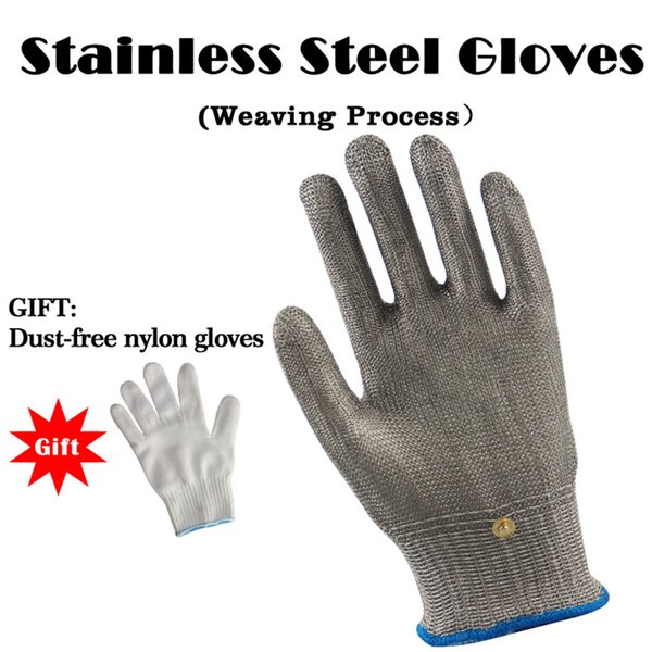 100% Stainless Steel High quality Butcher Protect Meat Glove, 1pcs