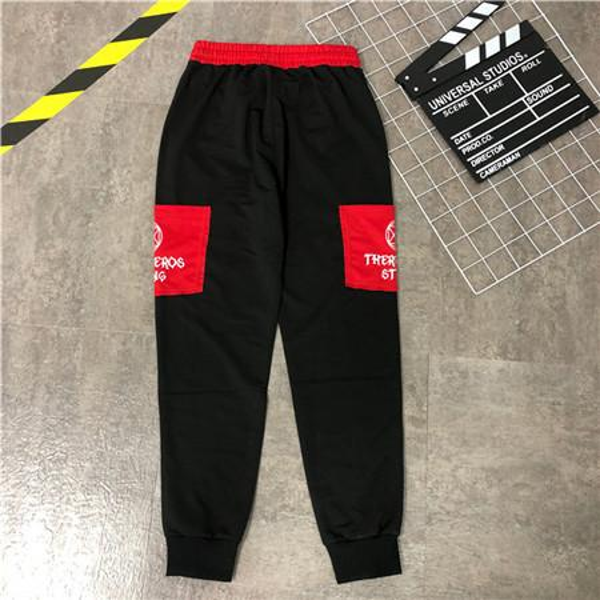 Мужские бегуны повседневные брюки Фитнес Мужчины Спортивная одежда Спортивные костюмы Bottoms Узкие Sweatpants Брюки черные Спортзалы Jogger Тренировочные брюки S-2XL B100192Q