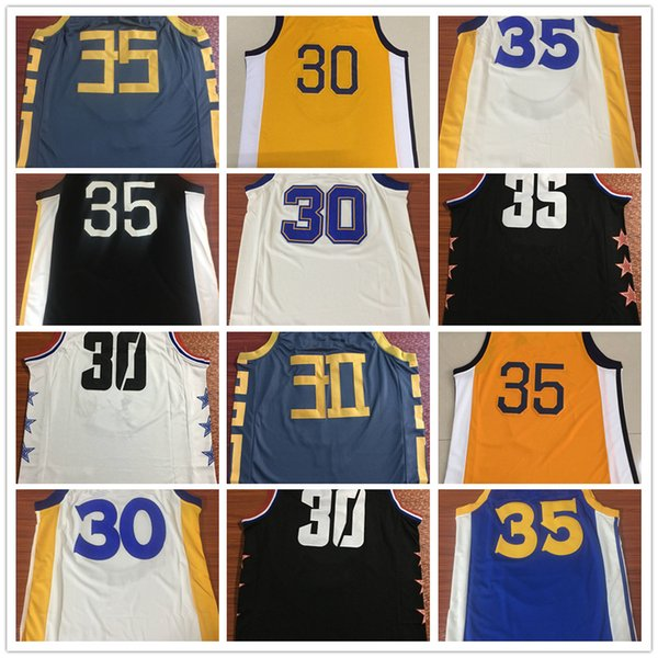 Dropshipping Mens Stephen Curry Jersey Kevin Durant Basketball Jersey MAN Basket Uniforms Stitched Trikots Shirts Wholesale Vests