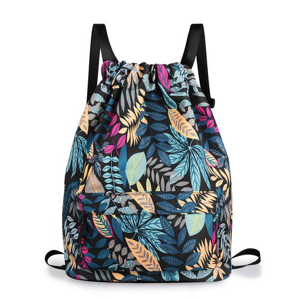 2018 !!! récent Mode femmes Sac à dos avec cordon de serrage 3D femmes impression Voyage de sacs à dos filles couverture souple scolaires worek mochila