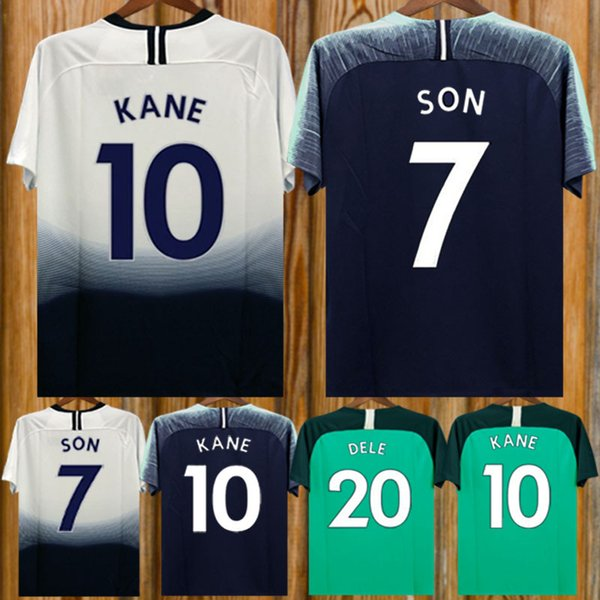 2ade1c3be 2019 Thailand Quality KANE Spurs Soccer Jersey 2018 19 LAMELA ERIKSEN MOUR  DELE SON Jersey 18 19 Football Kit Shirt Men And KIDS KIT SET Uniform From  ...