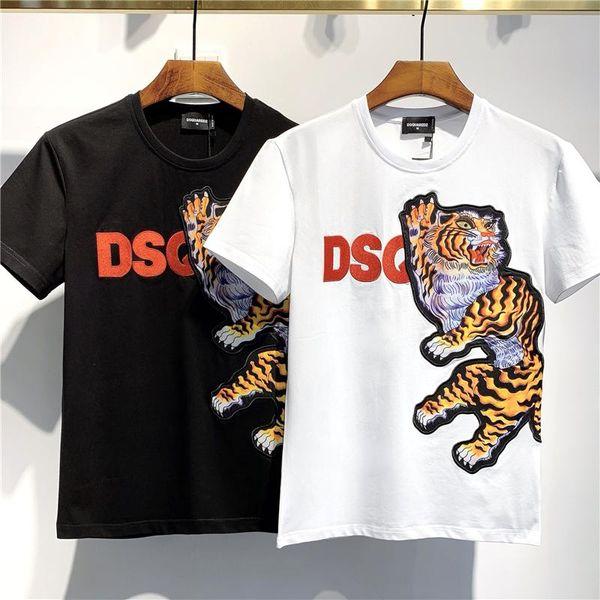 2020 SS Yeni Geliş Üst Kalite D2 Giyim Erkek Tişörtleri Tees Kısa Kollu M-3XL DT581 yazdır