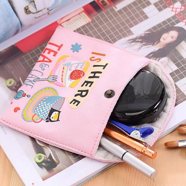 Women Travel Small Portable Cosmetic Bag Hasp Make Up Case Beauty Wash Organizer Storage Makeup Kit Toiletry Bath Box